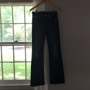 7 for all mankind kimmie bootcut jean in size 26